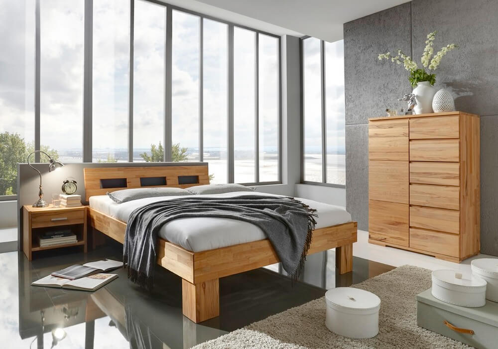 bettrahmen system gamma von m h m bel kr ger. Black Bedroom Furniture Sets. Home Design Ideas